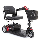 Go-Go Sport renting electric 3-wheel elderly four wheeled scooter